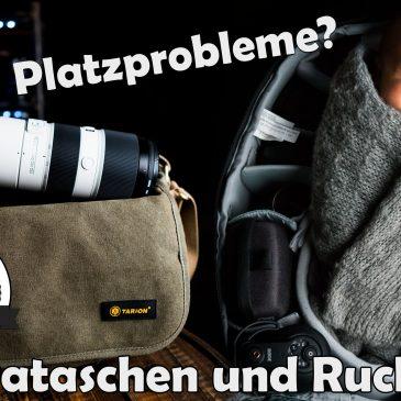 ? Kamera-Taschen und Rucksäcke im Vergleich – (TENBA, TARION, MANFROTTO, LOWEPRO)
