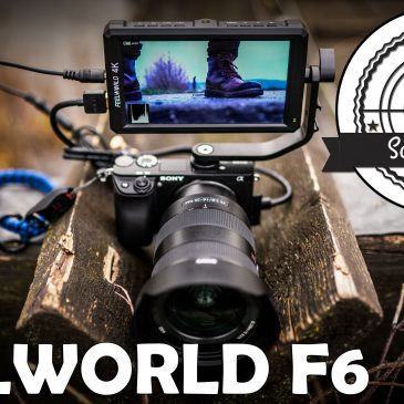 FEELWORLD F6 5,7″ On-Camera Monitor mit DC-Out im Test – der fast perfekte Gimbal Monitor! ?