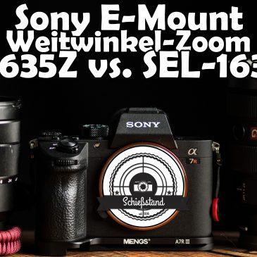 📷 Sony 16-35mm Weitwinkel-Objektive im Vergleich – Zeiss F4 oder doch lieber das G-Master?