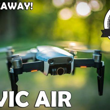 """DJI MAVIC AIR Review – die fast perfekte """"immer dabei"""" Drohne für Fotografen und Filmemacher"""