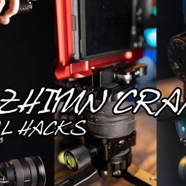 ZHIYUN CRANE 2 GIMBAL HACKS