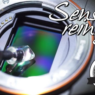📷 Sensor reinigen, für SONY a7 III, a7R III und alle spiegellosen Kameras!