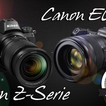 Nikon Z6/Z7 & Canon EOS R vs. Sony – jetzt geht's erst richtig (Spiegel)los – Meine Meinung!