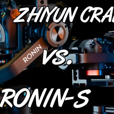 DJI RONIN-S vs. ZHIYUN CRANE 2 – welcher ist der bessere Gimbal?