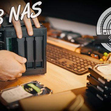 Mehr Platz für 4K ProRes! – 32 TB NAS mit 10 GBit Netzwerk! asustor AS4004T